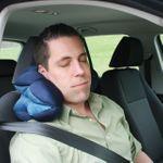 Подушка Трансформер Total Pillow (Синяя) Под шею