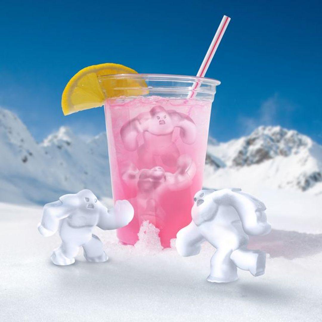 Форма для льда Чудовище Abominable Льдинки в стакане