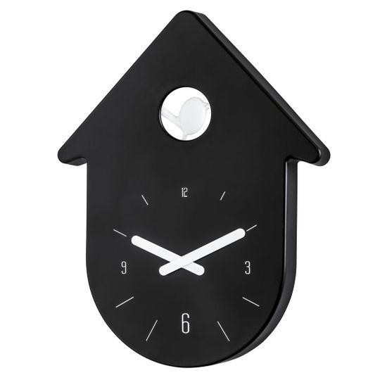Часы настенные Toc-Toc (Черный с белым)