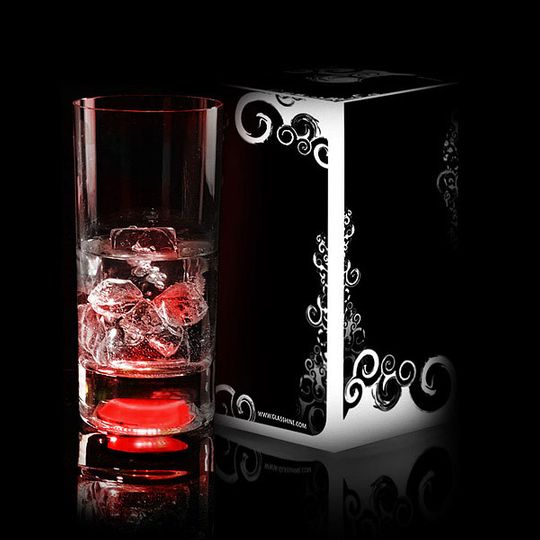 Светящийся бокал GlasShine Longdrink
