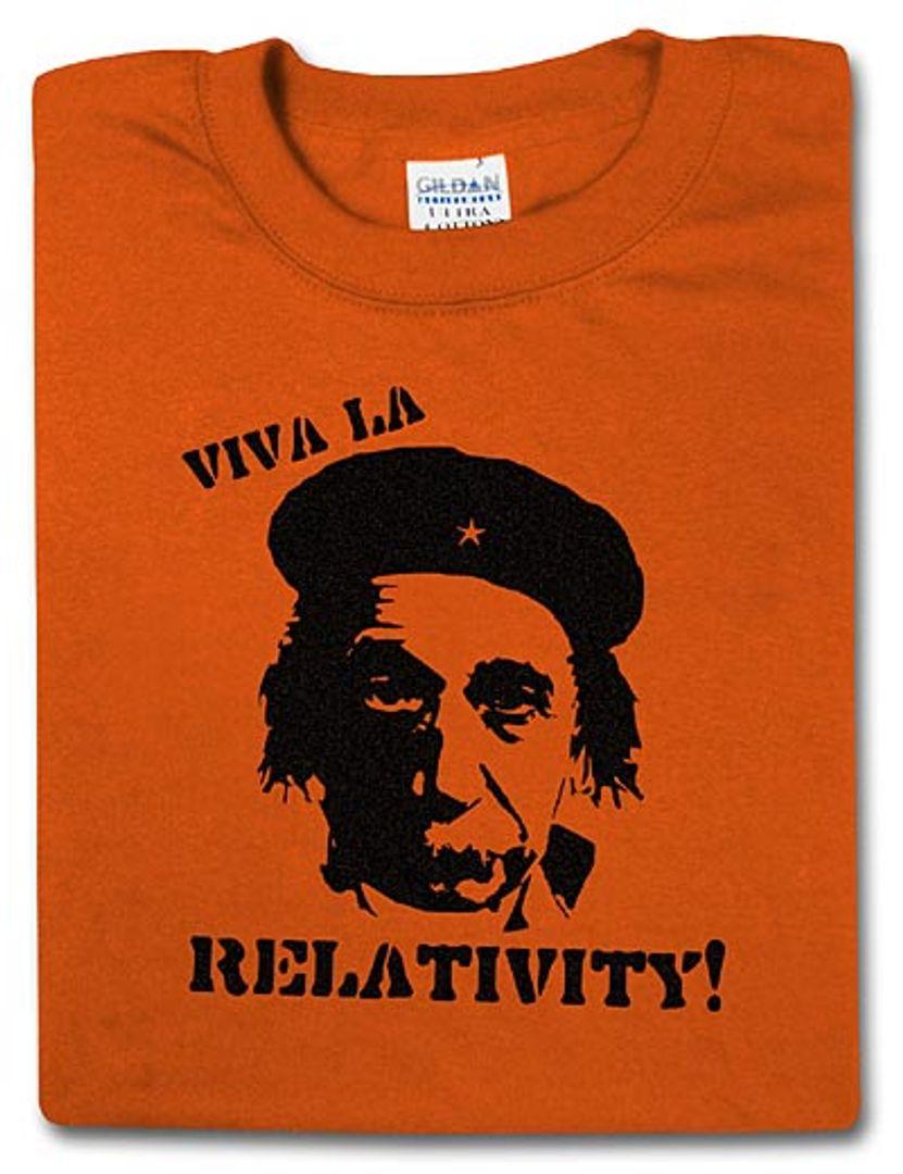 Футболка Viva La Relativity!