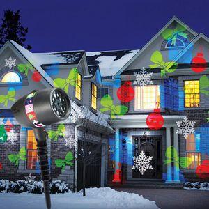 Светодиодный Лазерный Проектор для подсветки дома Slide Show (12 слайдов)
