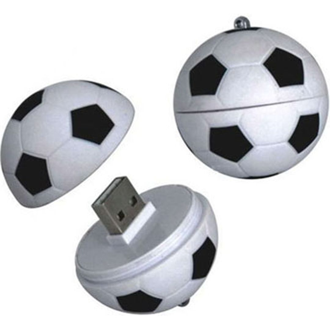 Флешка Футбольный мяч 8 Гб