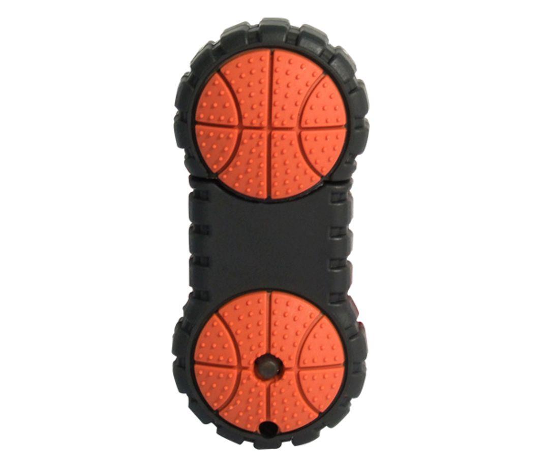 Флешка Баскетбольный мяч пополам 4 Гб