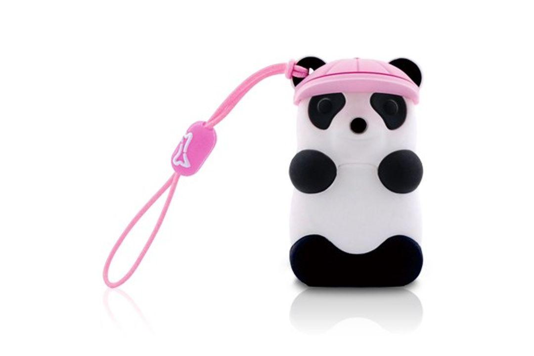 Флешка Панда Розовая 4 Гб