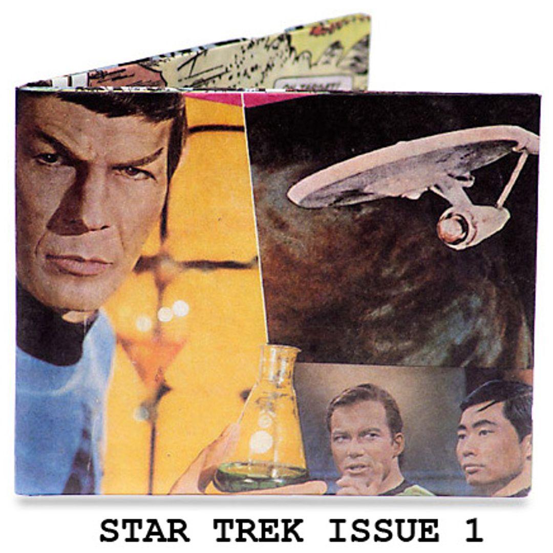 Бумажный Бумажник Mighty Wallet Star Trek Issue 1