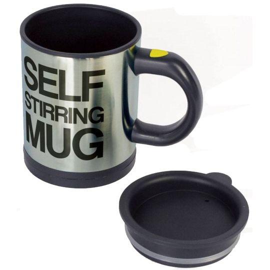 Кружка Мешалка Self Stirring Mug (Черный)
