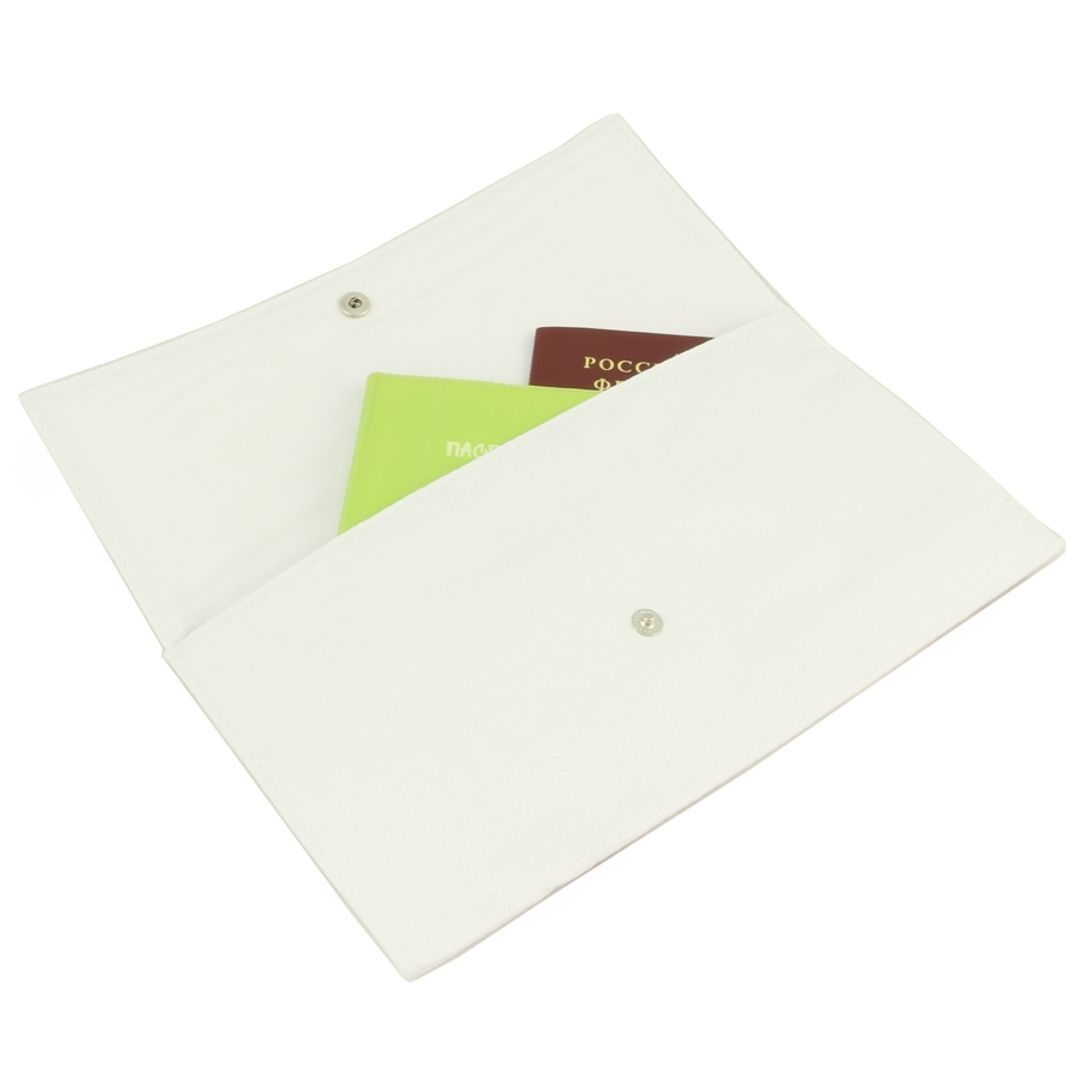 Конверт для путешествий White Mouse С документами
