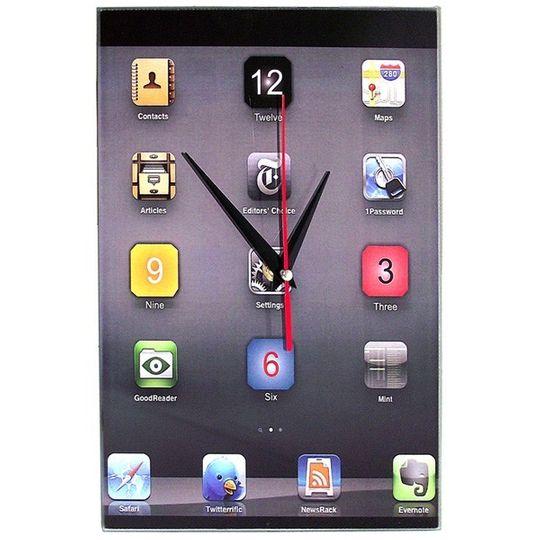 Часы настенные iClock (Серый)