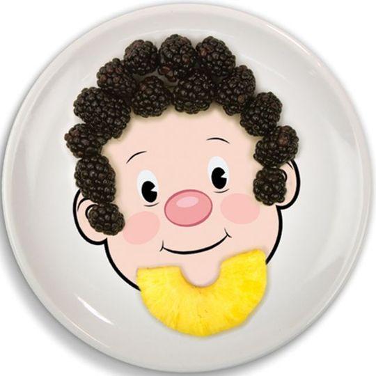 Тарелка FoodFace