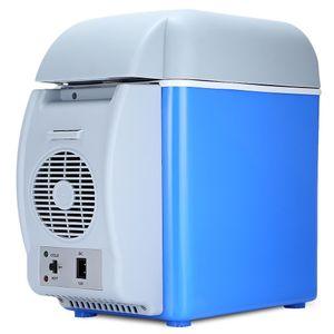 Холодильник с функцией подогрева для авто (7,5 л, 12В)