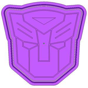 Форма для печенья Transformers Автоботы (эмблема)