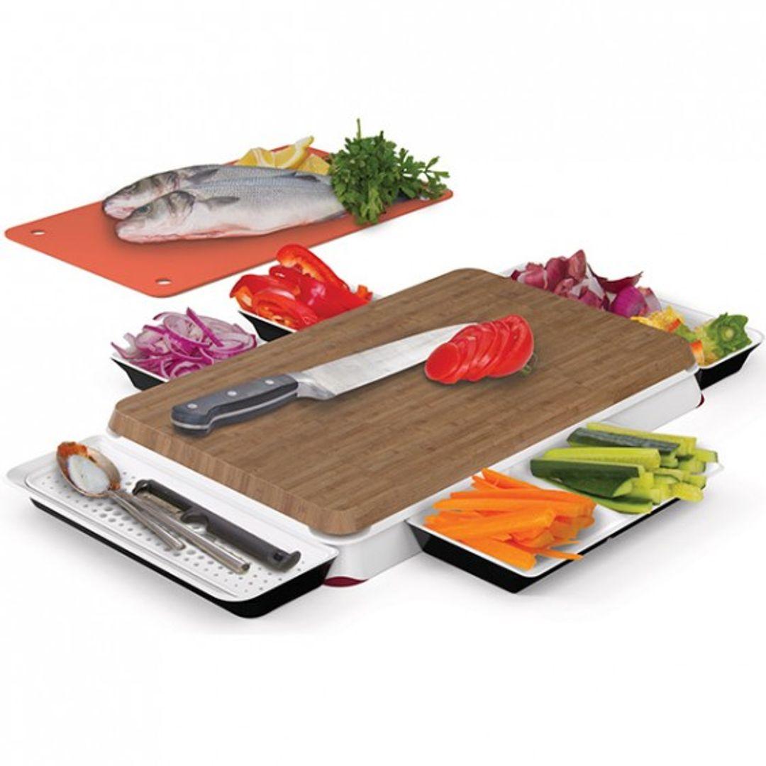 Разделочная доска Chop & Serve