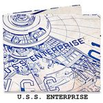 Бумажный Бумажник Mighty Wallet U.S.S. Enterprise