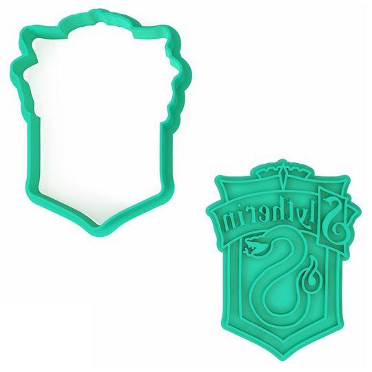 Форма для печенья Harry Potter Slytherin (эмблема)