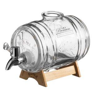 Диспенсер для напитков Barrel на подставке (1 л)