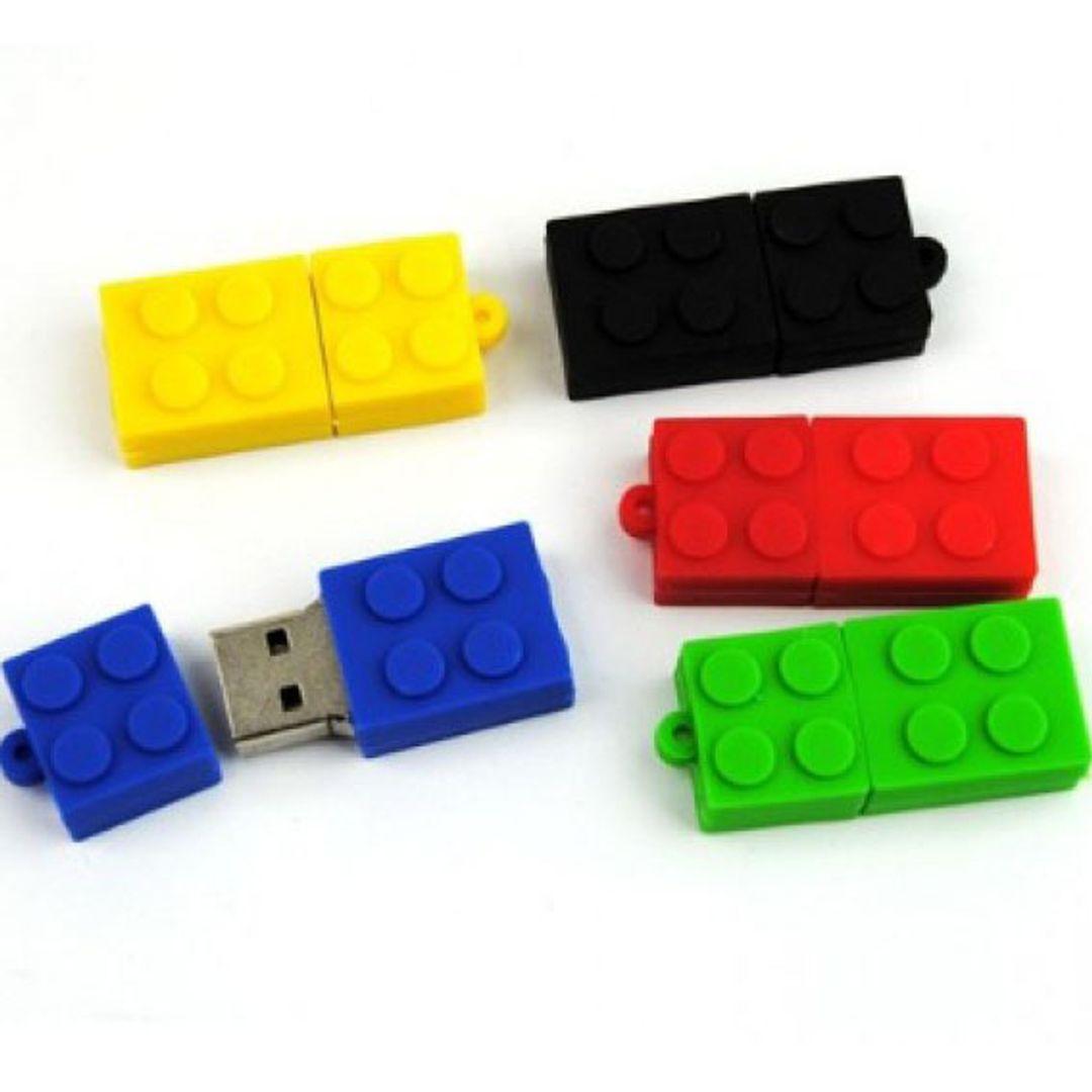 Флешка Лего 8 Гб Разные цвета