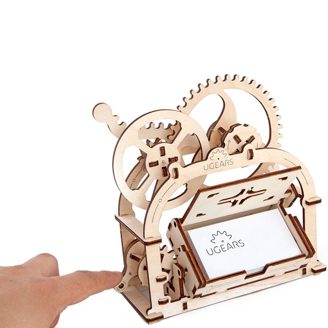 Механический 3D Пазл Ugears Шкатулка Подходит для визиток