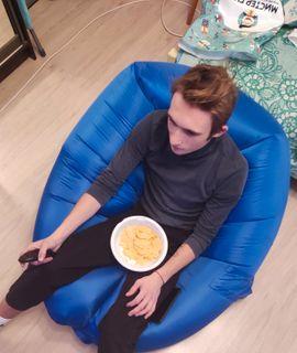 Надувное кресло-лежак Lamzac Отзыв