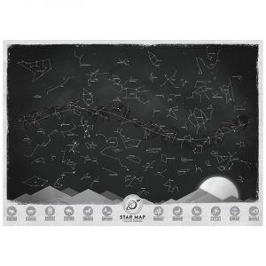 Светящаяся карта созвездий Star Map (на английском)