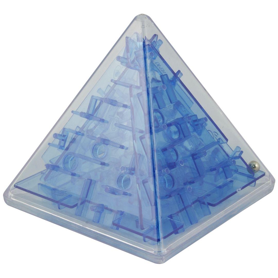 Головоломка Лабиринт Пирамида (Синий)