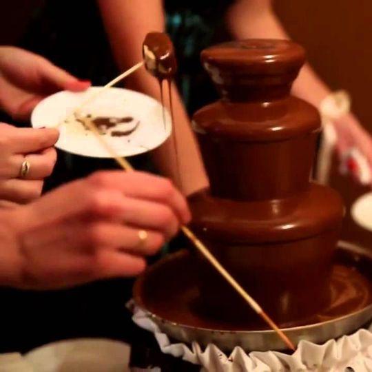 Шоколадный фонтан Big Использование