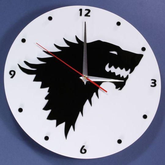 Часы настенные Старки Игра престолов
