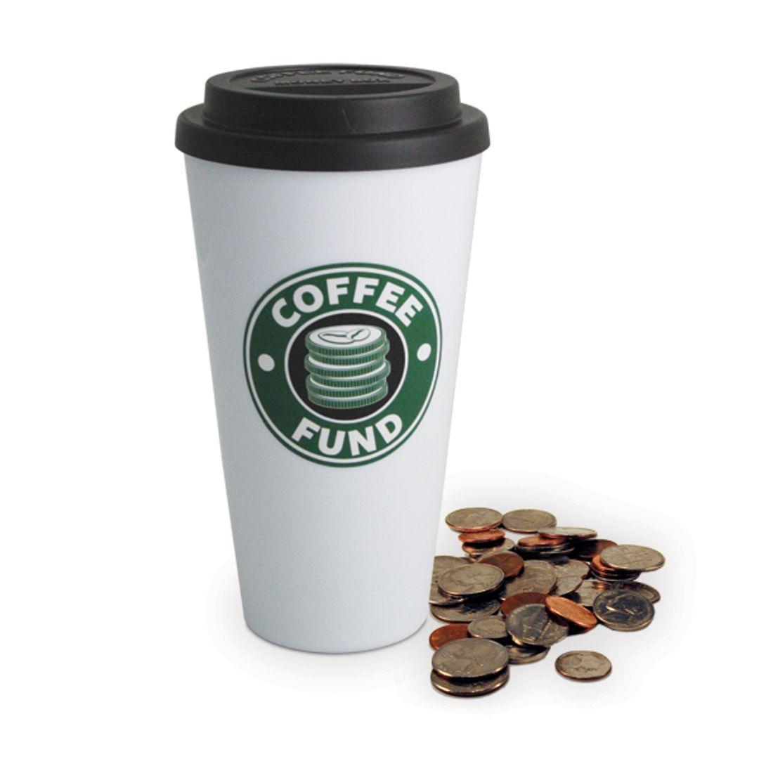 Копилка Starbucks пластик
