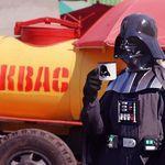 Эмалированная кружка Darth Vader С квасом