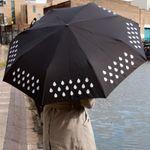 Зонт, меняющий цвет
