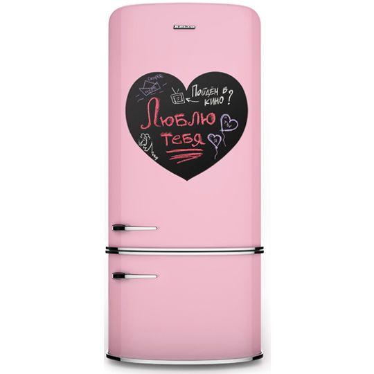 Магнитная доска на холодильник Сердце Меломпо