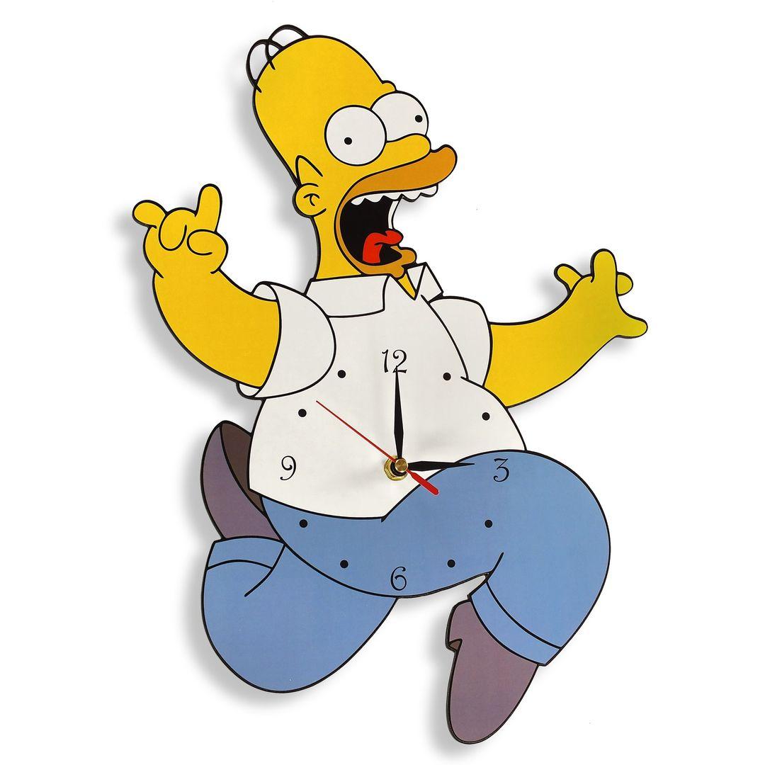 Часы настенные Гомер Симпсон