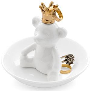 Подставка для колец Мишка-король The king