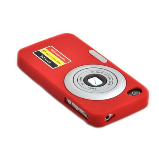 Чехол iPhone 4 Фотоаппарат