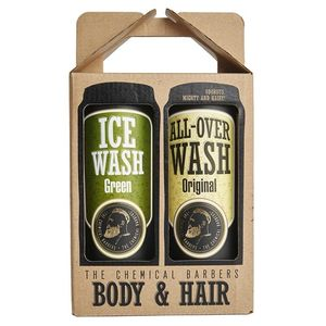 Подарочный набор The Chemical Barbers Beer Shampoo Gift Set Body&Hair