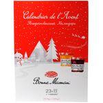 Подарочный набор Рождественский календарь Bonne Maman