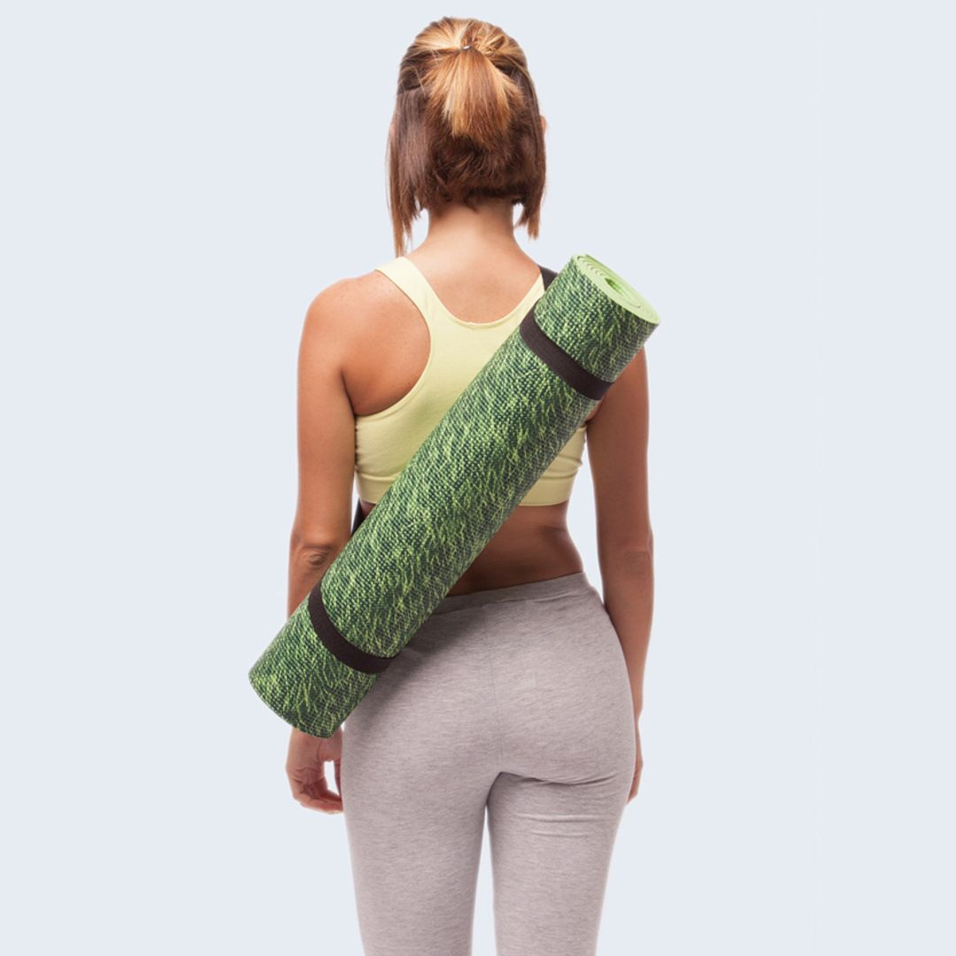 Коврик для йоги Nature grass