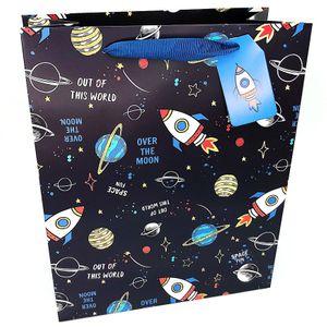 Подарочный пакет Rocket in space