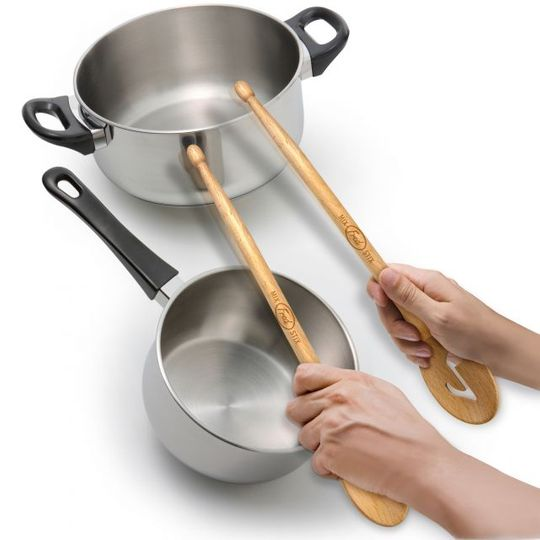 Ложки для готовки Барабанные палочки Mix Stix