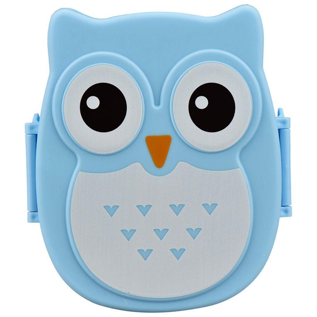 Ланч-бокс Сова Owl (Голубой)