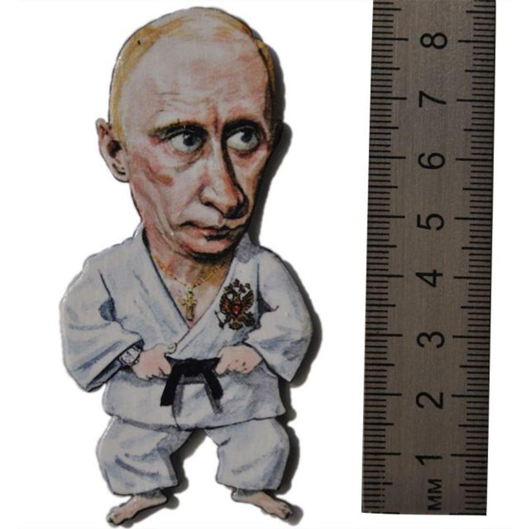 Магнит на холодильник Путин Дзюдоист