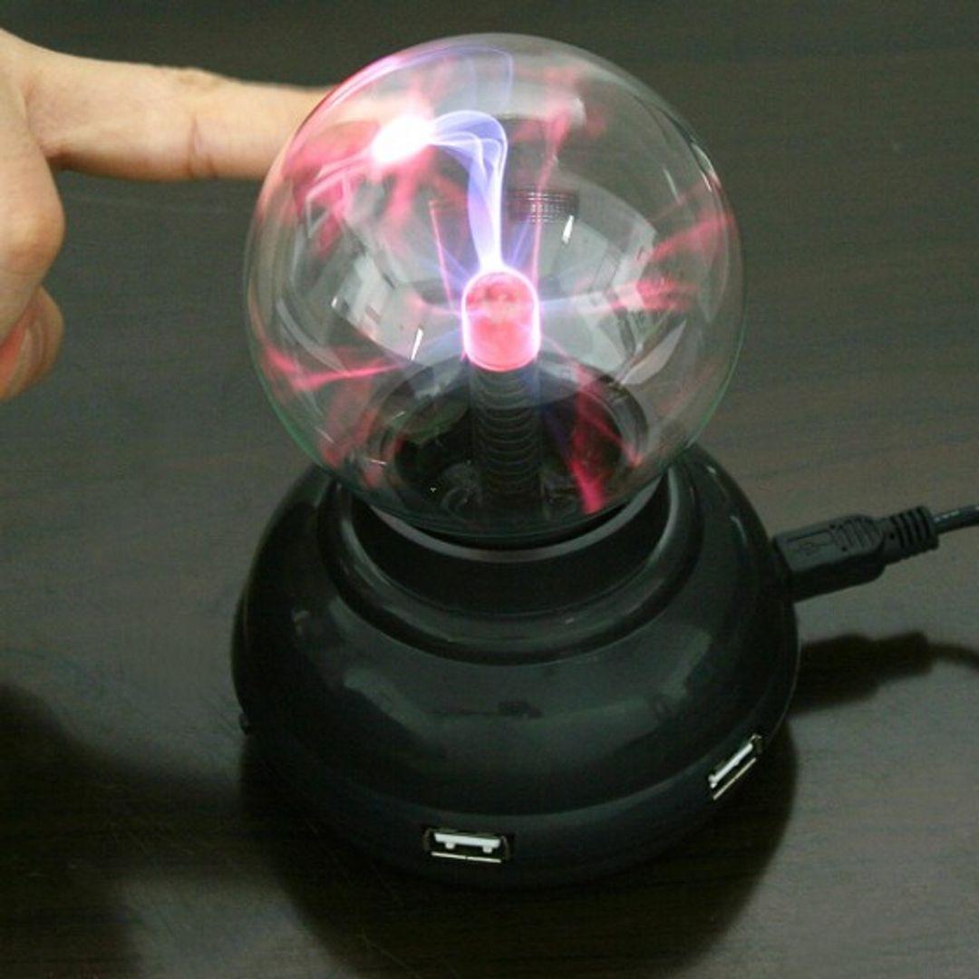 USB Плазменный шар с USB-хабом