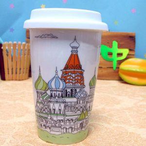 Экокружка неБумажный стакан Moscow