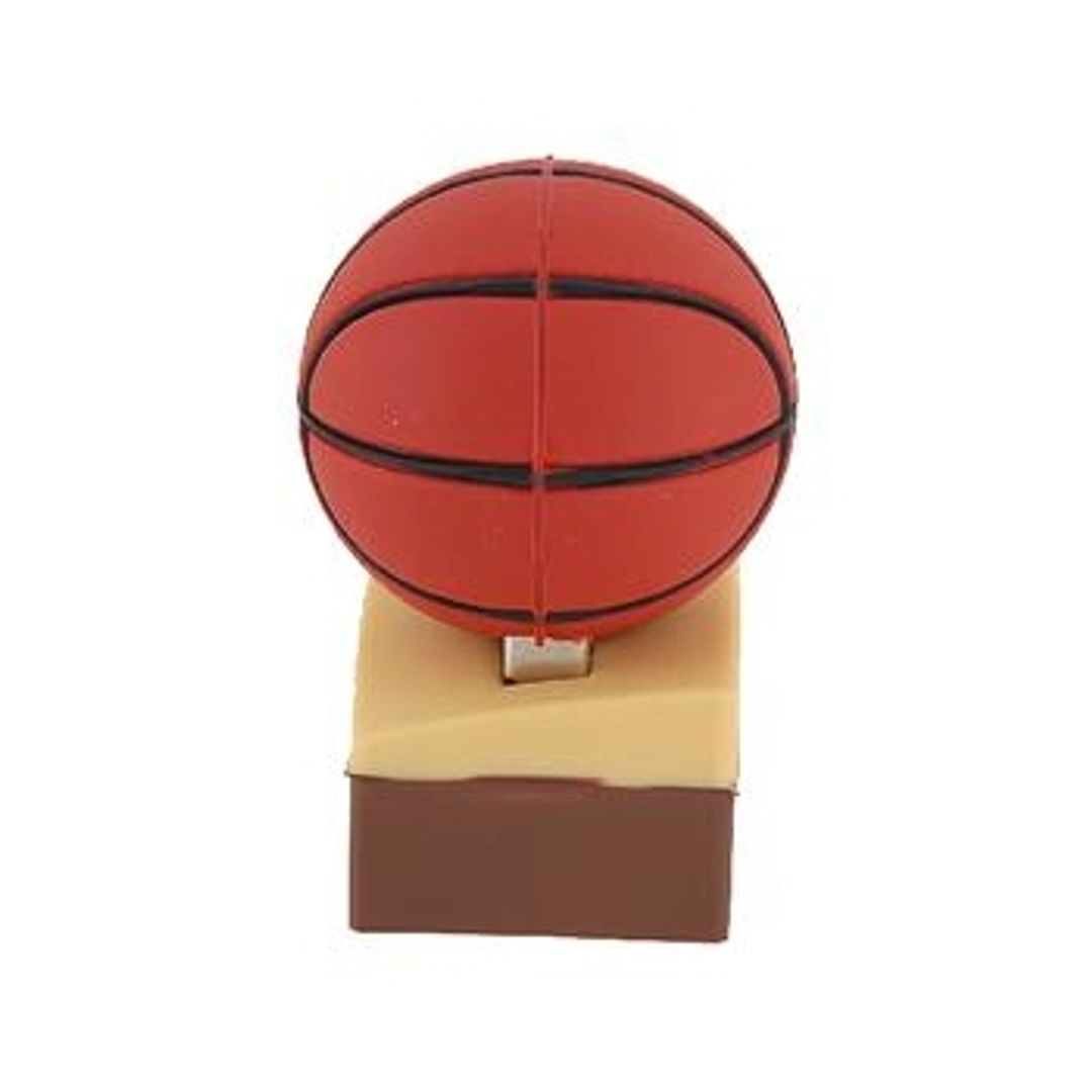 Флешка Баскетбольный мяч на паркете 4 Гб