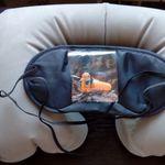 Надувная подушка в дорогу с маской для глаз Отзыв