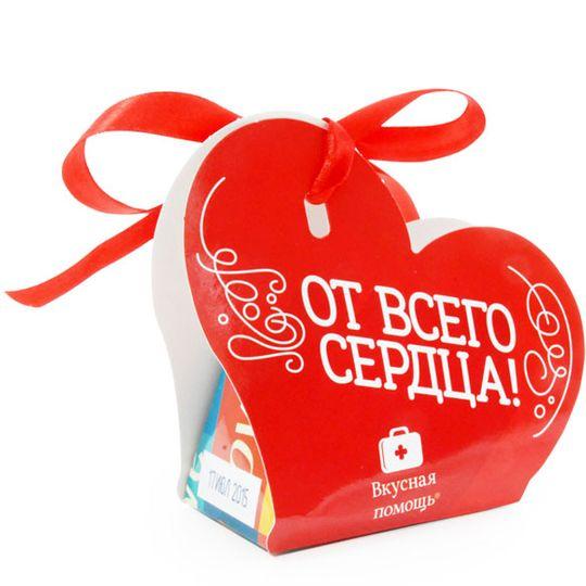 Набор шоколадных конфет От всего сердца!