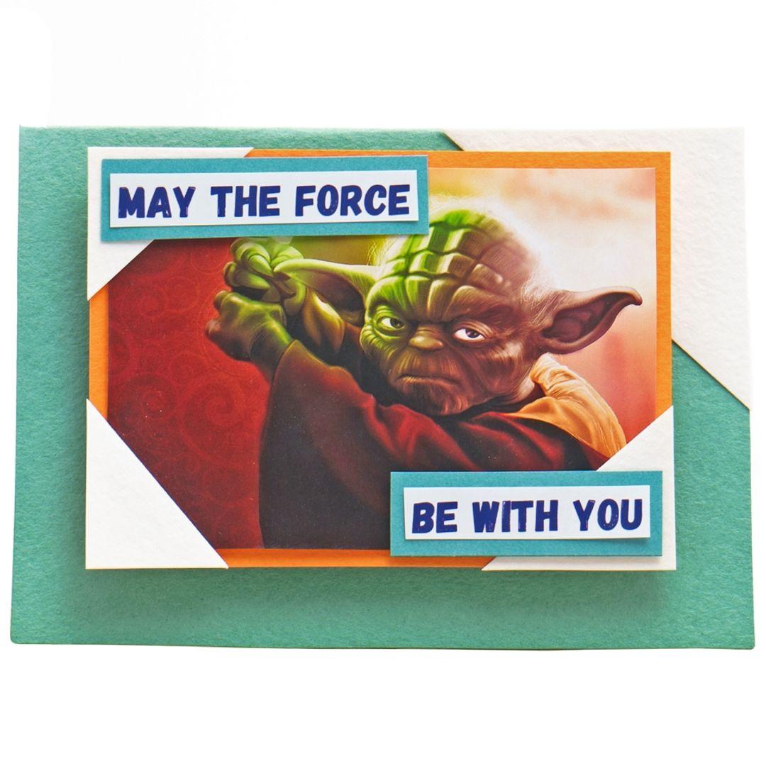 Открытка Star Wars Мастер Йода