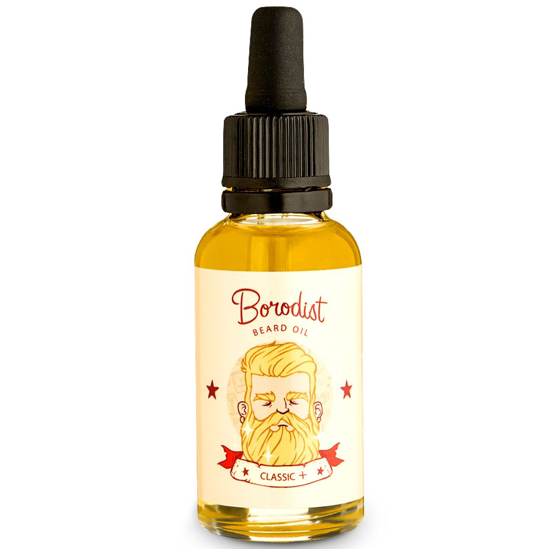 Масло для бороды Borodist Beard Oil Classic+ (30 мл)