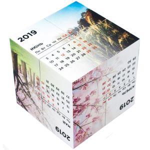 Кубик-трансформер Календарь 2019
