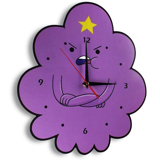 Часы настенные Пупырка Adventure time